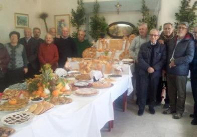 Enna – La festa di San Giuseppe al Centro Anziani Don Leo Vetri