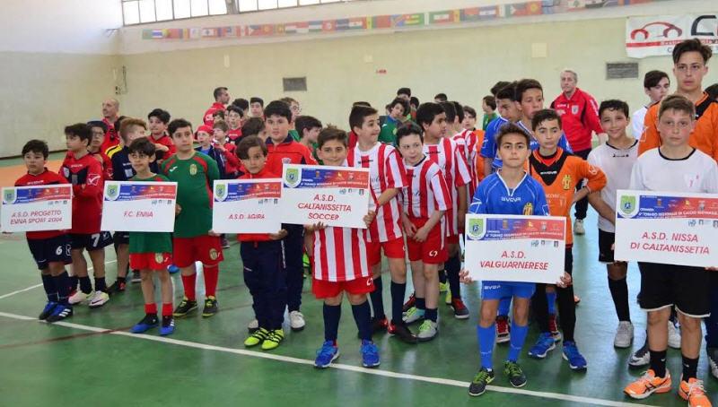 """Enna – Tutto pronto per il torneo """"Pasqua 2018"""" di calcio giovanile a 5"""