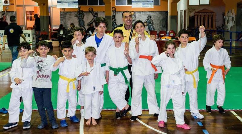Campionato nazionale di Ju-jitsu: ottima prestazione degli atleti armerini della Asd BigGym School