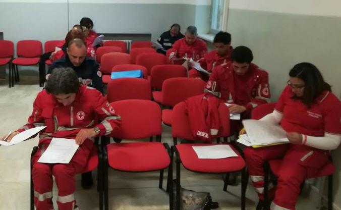 Corso base di accesso presso la Croce Rossa Italiana di enna