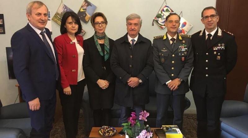 Enna – In Prefettura il Console Generale di Romania, dott.ssa Carmen Liliana Iacob,