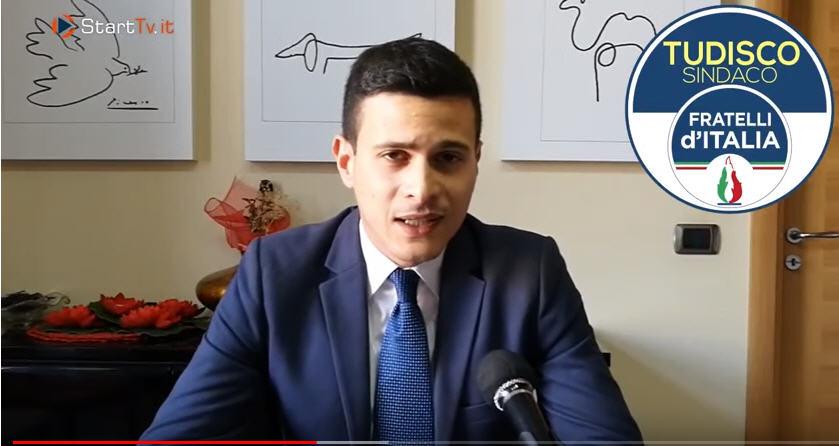 """Elezioni comunali, spazio video autogestito. Dichiarazione di Alessio Cugini della lista """"Fratelli d'Italia"""""""