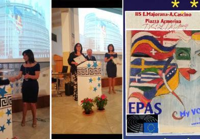 """L'istituto Majorana-Cascino di Piazza Armerina riconosciuto """"Scuola ambasciatrice del Parlamento europeo"""""""