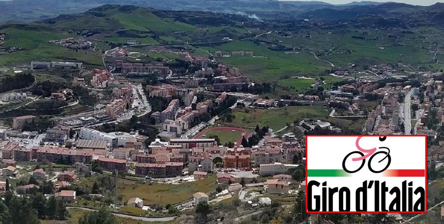 La città di Enna si prepara al passaggio del Giro d'Italia