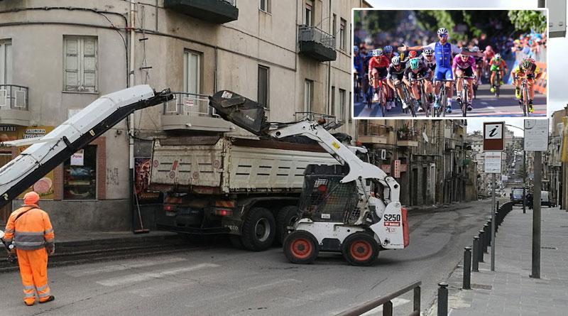 Piazza Armerina – Per il Giro d'Italia scuole chiuse e strade bloccate sin dalle prime ore del 10 maggio