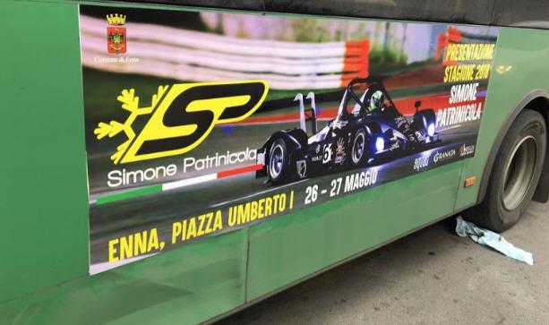 Enna – Il 26 e il 27 maggio verrà presentata la vettura del pilota ennese Simone Patrinicola