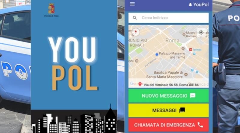 Sicurezza: arriva «YouPol» la nuova app della Polizia di Stato contro bullismo e spaccio