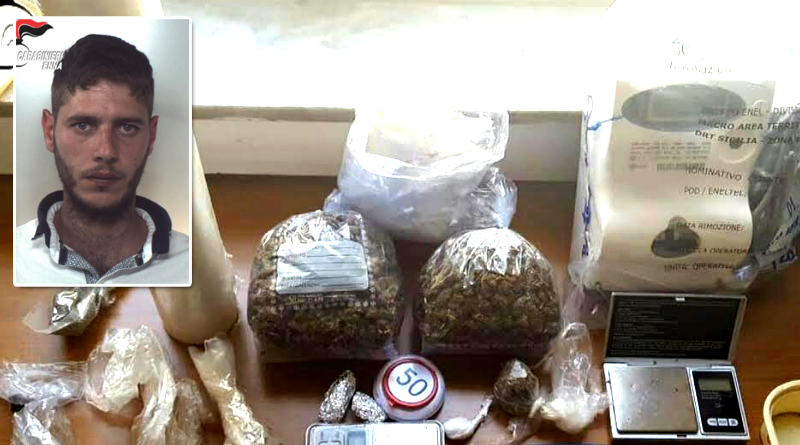 Centuripe: arrestato dai carabinieri un allevatore per detenzione di droga