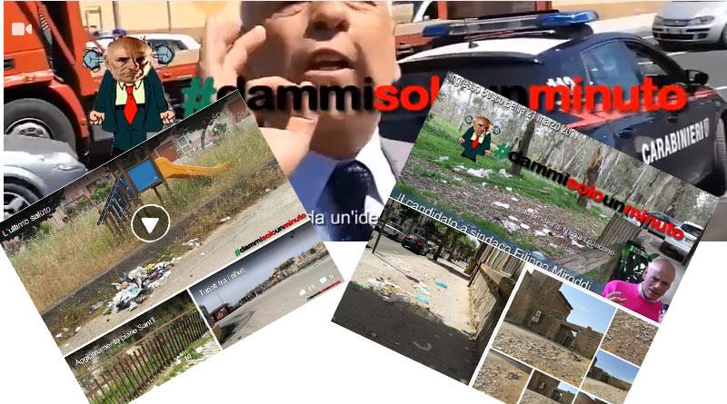 DammiSoloUnMinuto : il saluto al sindaco Miroddi