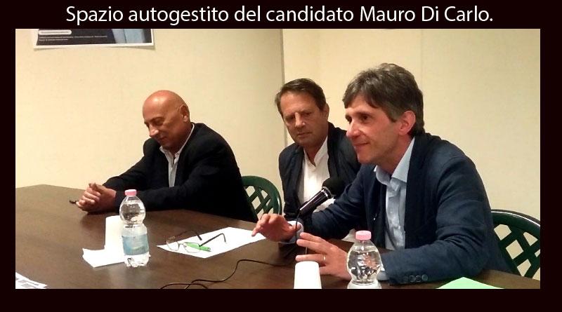 Elezioni comunali, Mauro Di Carlo – Presentazione dell'assessore designato Nicola Sanfilippo