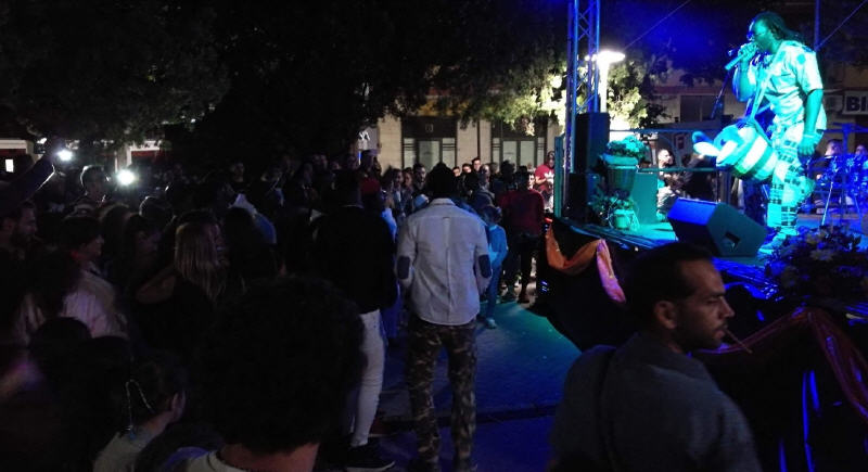 Piazza Armerina – Serata musicale dedicata all'integrazione in piazza G.B. Giuliano