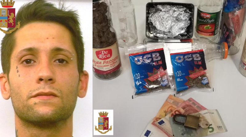 Un arresto a Leonforte per spaccio di droga