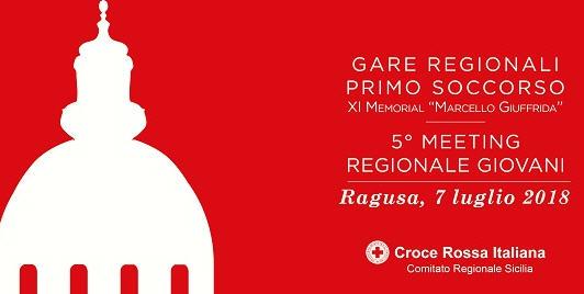 A Ragusa Ibla, le gare regionali di primo soccorso e il 5° Meeting Regionale dei Giovani CRI
