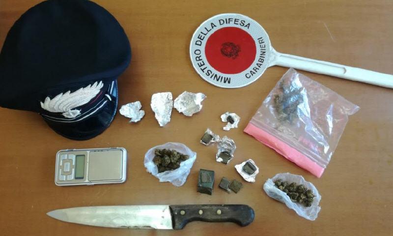 Spaccio di droga: arrestato un giovane a Barrafranca
