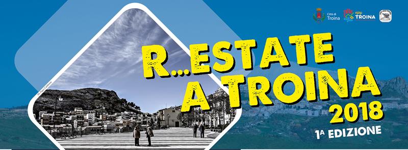 """Il programma della prima edizione di """"R… Estate a Troina 2018"""""""
