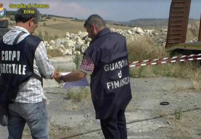 La Guardia di Finanza e la Forestale sequestrano discarica abusiva a Pietraperzia