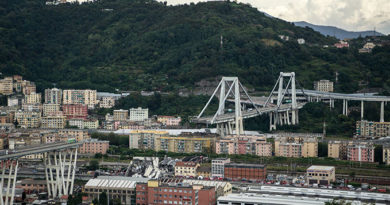 La sciagura di Genova
