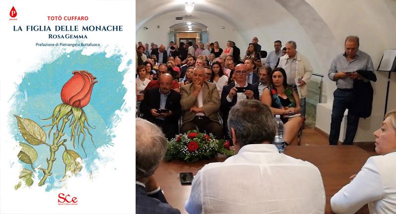 """[VIDEO] Piazza Armerina – Sala gremita alla presentazione del libro di Totò Cuffaro """"La figlia delle monache"""""""
