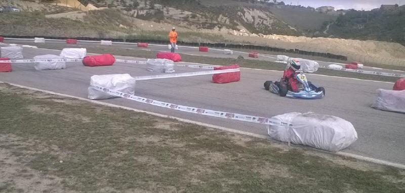 All'ennese salvatore correnti la cronogara al kartodromo Sicilia Karting di Villapriolo