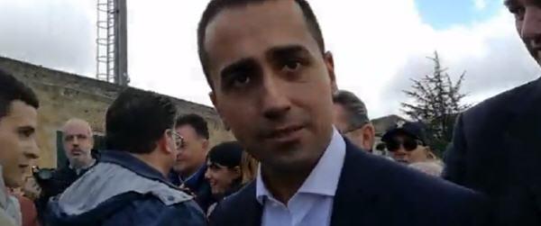 """Luigi Di Maio a Piazza Armerina: """"dichiareremo lo stato di emergenza"""