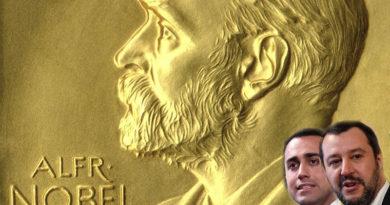 Previsioni: il premio Nobel per l'economia a Luigi Di Maio e Matteo Salvini