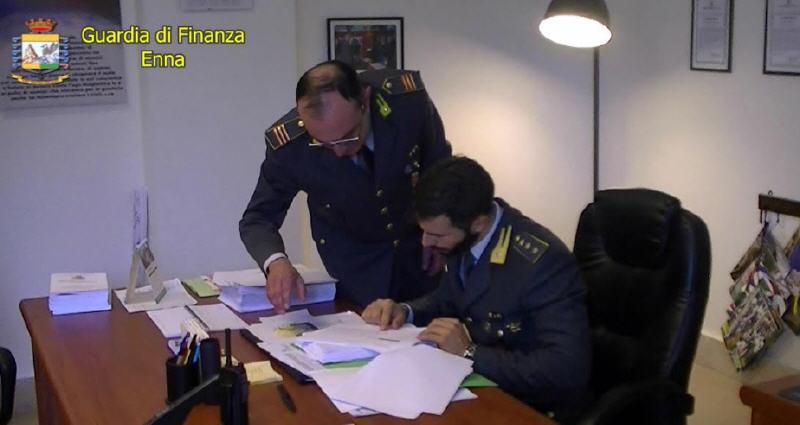 La Guardia di finanza di  Enna sequestra di 1,5 milioni per presunta bancarotta