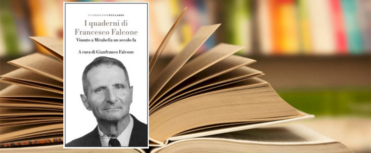 """Piazza Armerina – Sabato 6 ottobre presentazione del libro """"I quaderni di Francesco Falcone"""""""