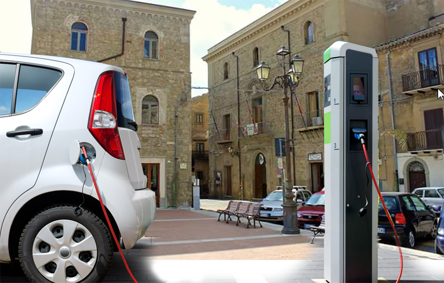 Troina – Saranno installate colonnine di ricarica per i veicoli elettrici