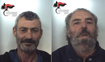 Troina,  doppiette clandestine: Carabinieri arrestano due pregiudicati