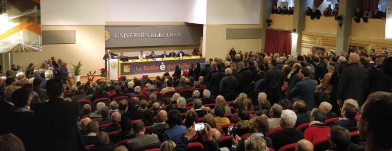 """Autonomisti: """"forte volontà di riprendere un cammino verso una nuove fase politica"""""""