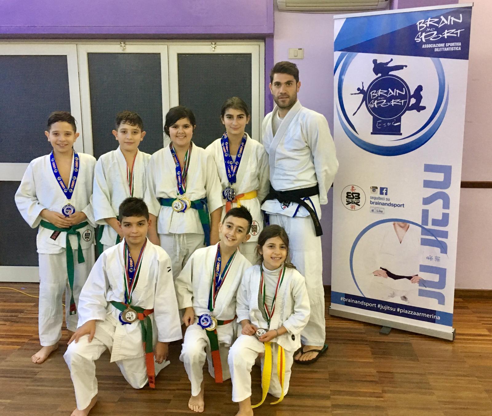 Sport, Ju Jitsu: in Coppa Italia ottimi risultati dei ragazzi della Brain and Sport di Piazza Armerina