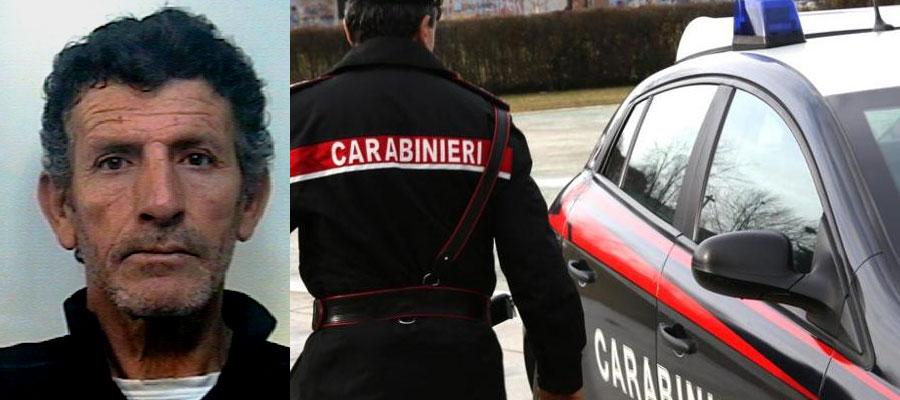 Piazza Armerina: evasione dagli arresti domiciliari, i carabinieri arrestano un uomo.