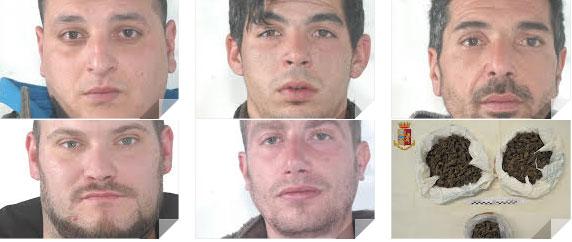 Inseguimento sulla A19: la polizia ferma cinque giovani leonfortesi che trasportavano droga