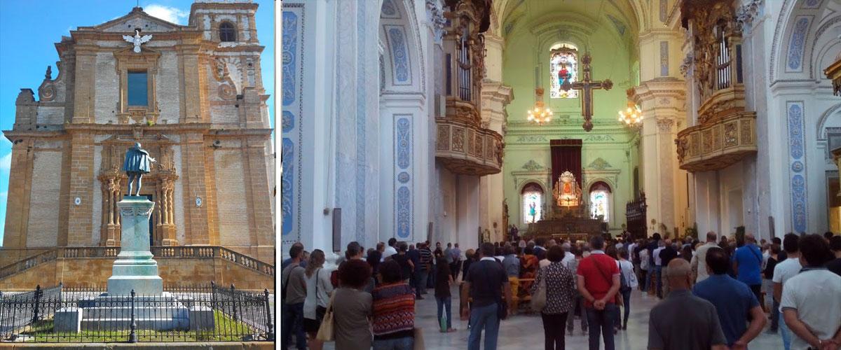 Domenica 17 febbraio in diretta e in mondo visione su Rai1 la Messa dalla Cattedrale di Piazza Armerina