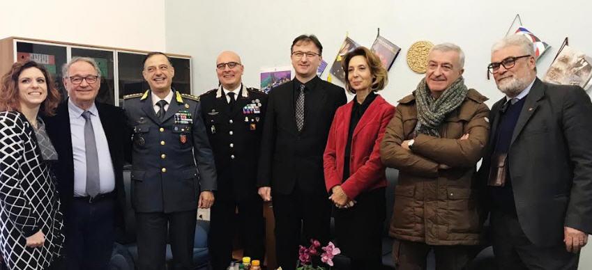 Prefettura Enna – Visita dell'ambasciatore della Bosnia Erzegovina in Italia