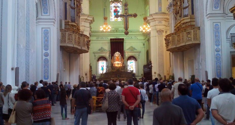 """Piazza Armerina, """"Giornata mondiale della Vita"""": messa e distribuzione di beni di prima necessità in Cattedrale."""