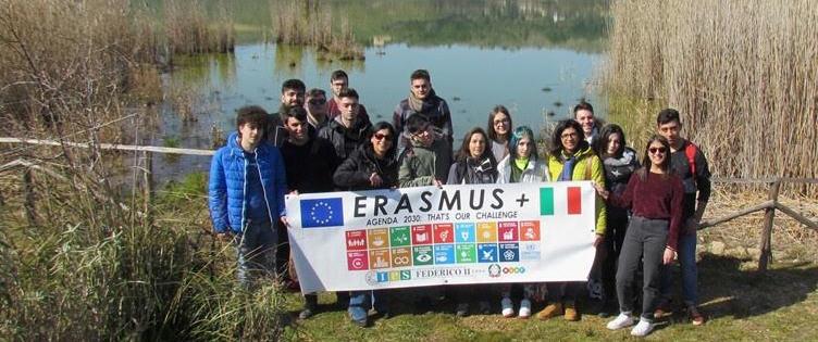 """Passeggiata in natura per gli Studenti dell'Istituto Professionale Statale """"Federico II"""" di Enna"""