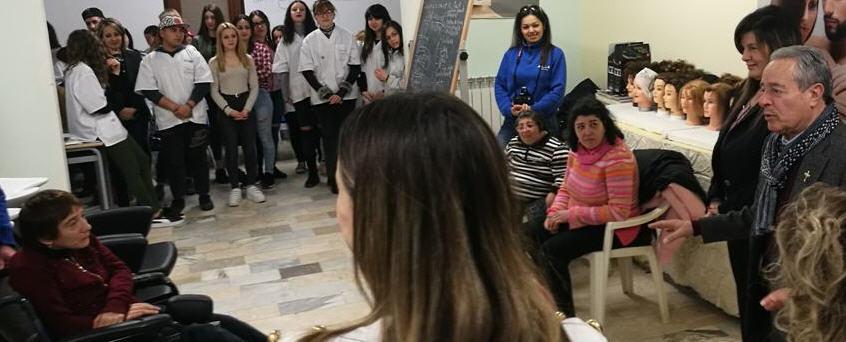 Bellezza e solidarietà: gli alunni della scuola professionale Eris per il secondo anno incontrano i disabili dell'AIAS