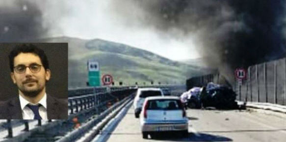 Scontro Tir – auto sulla A19: morto il Pm della Procura di Enna Giovanni Romano (39 anni)