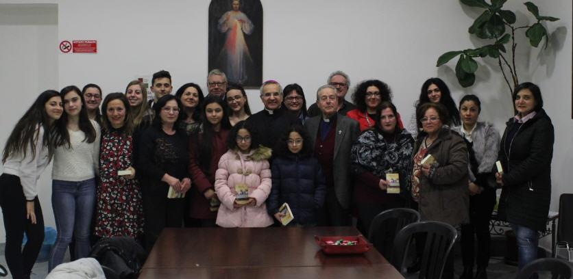 Piazza Armerina – Incontro Ucim con il vescovo Mons. Rosario Gisana