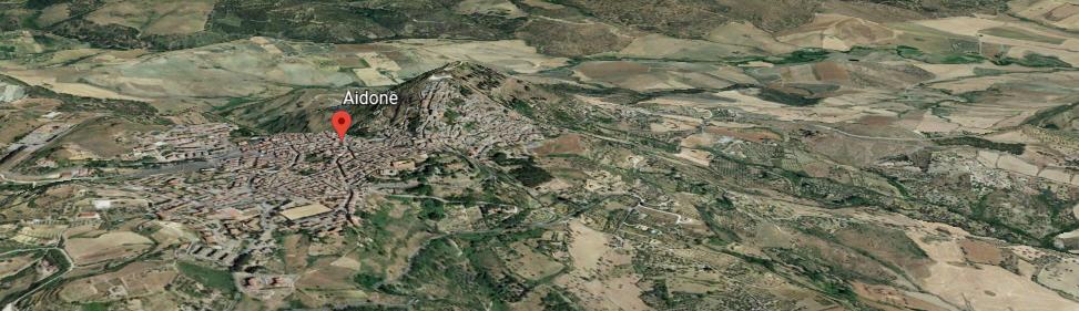 Aidone, in sicurezza la zona Castello