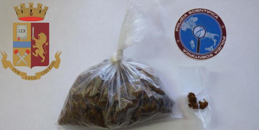 Un arresto a Piazza Armerina per detenzione e spaccio di droga.