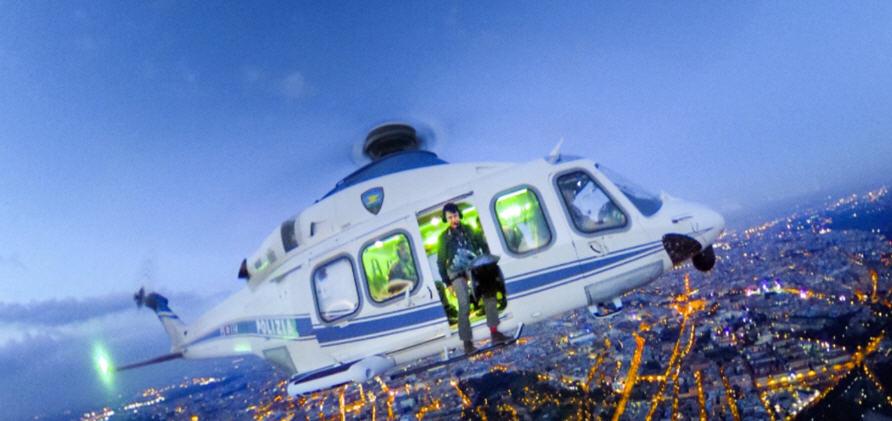 Le foto di Massimo Sestini dagli elicotteri della Polizia di Stato in mostra a Mosca dal 12 marzo