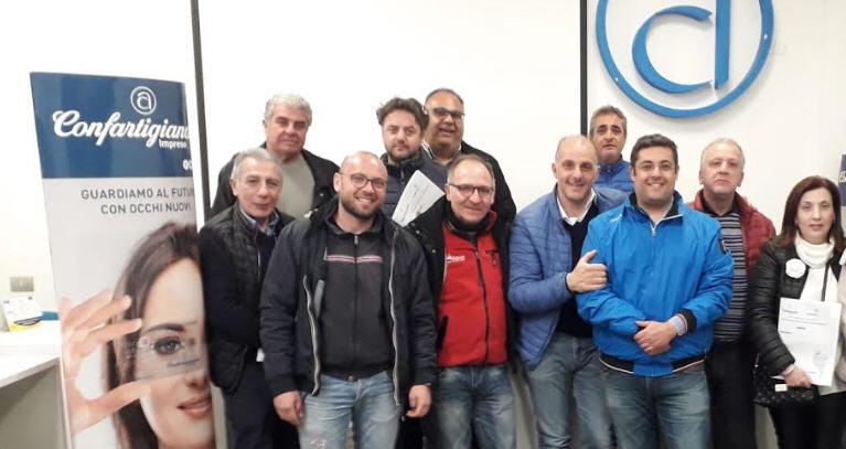 Maurizio Gulina riconfermato presidente provinciale della categoria impiantisti di Confartigianato