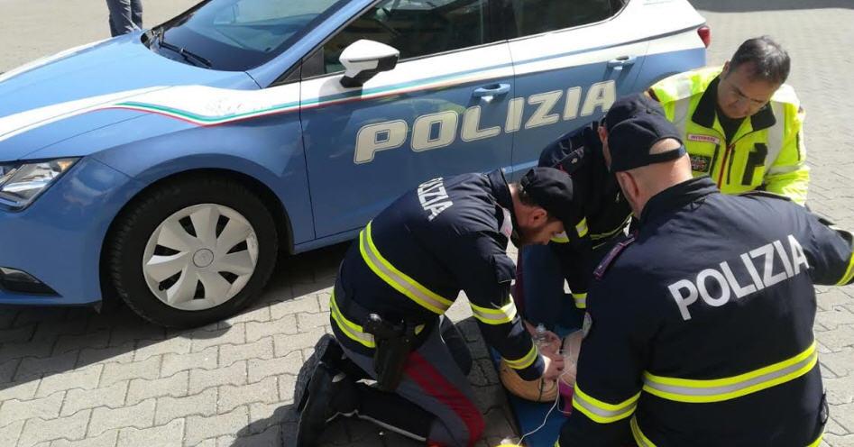 La Polizia di Stato di Enna si addestra a salvare vite con il defibrillatore