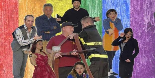 """Piazza Armerina – Al teatro Garibaldi la commedia """"Pompieri in tacco a spillo"""". La regia è di Salvatore Urzì"""