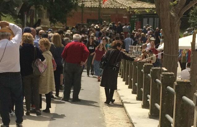 Villa Romana  del Casale – Disagi per i turisti all'ingresso segnalati da Basilio Fioriglio
