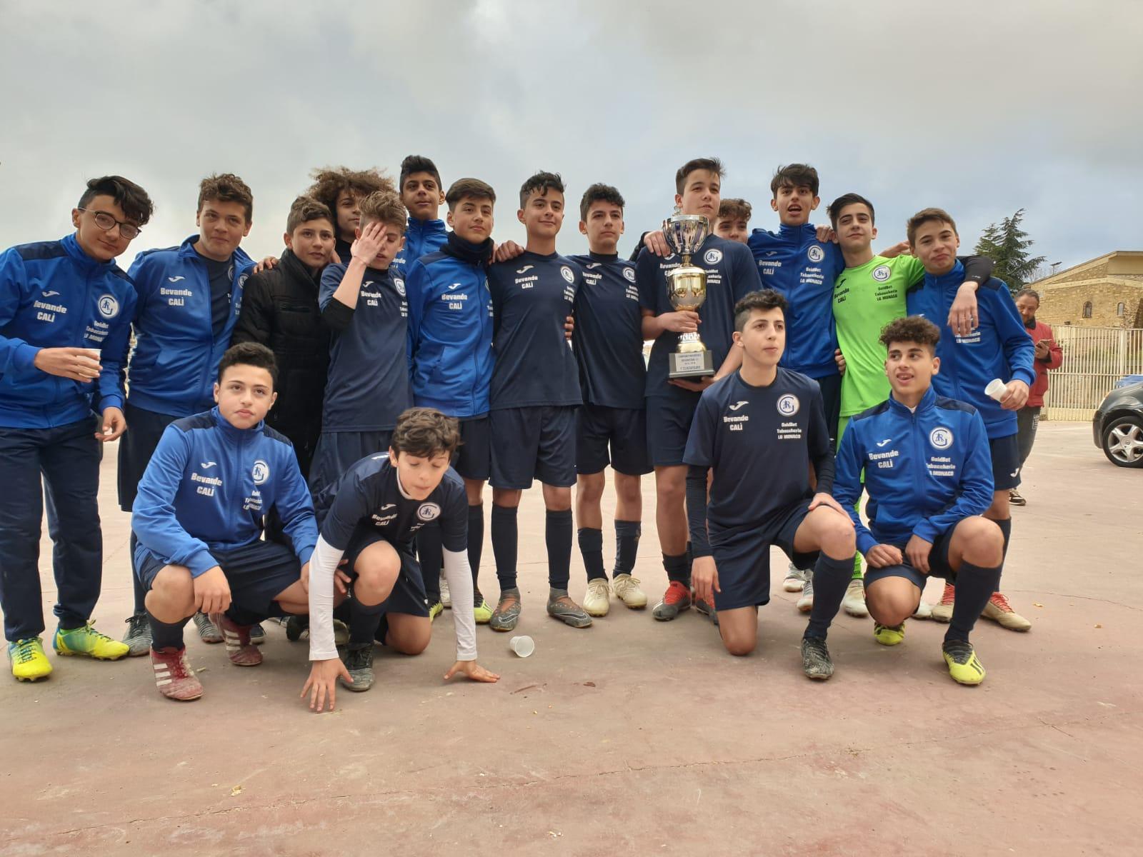 Piazza Armerina – La squadra Gear 14 anni vince il torneo provinciale.