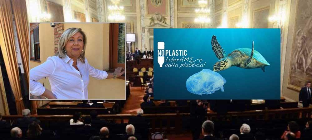 """Sicilia isola Plastic Free – L'On. Luisa Lantieri : """"orgogliosa di aver contribuito a questa battaglia ecologista"""""""