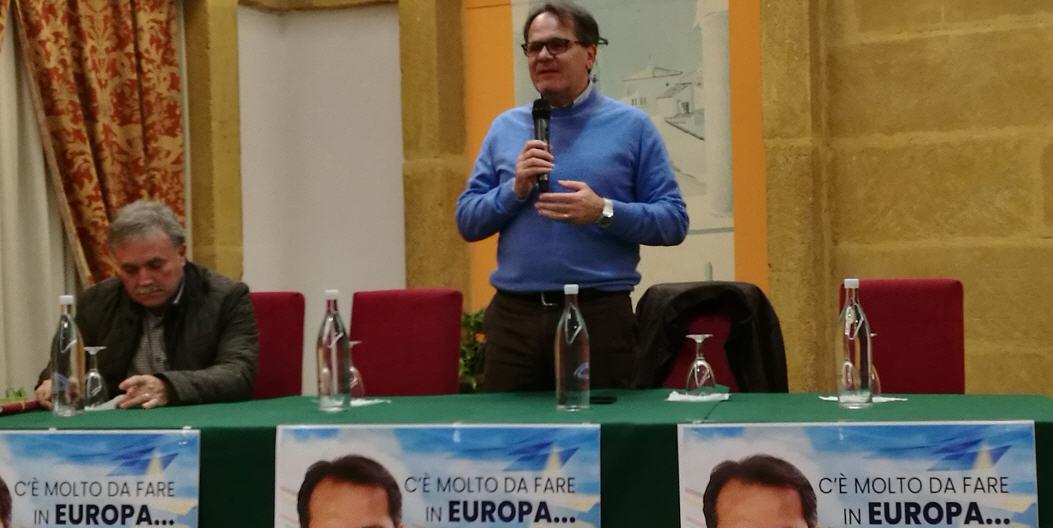 Piazza Armerina – Forza Italia: l'On. Saverio Romano apre la campagna elettorale delle Europee